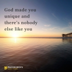 "Your ""SHAPE"" reveals God's purpose for you – by Rick Warren"