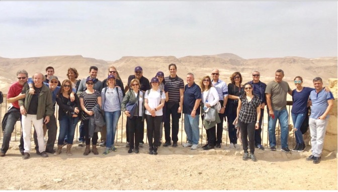 Taking a Group to Israel, Feb-March, 2017