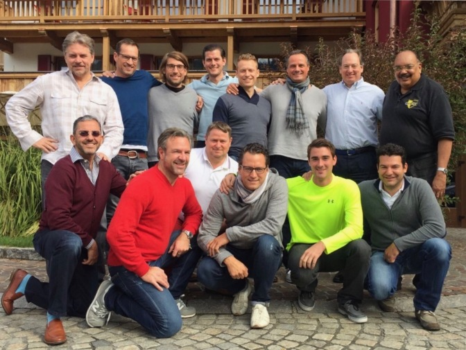Men's Retreat, Kitzbühel, Austria - October 2016